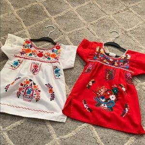 Other - Toddler girl Mexican dresses